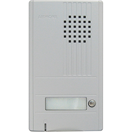 Aiphone DA-1DS 1-Call Audio Entrance Door Station for DA Series Two-Wire Door Entry System (Silver)