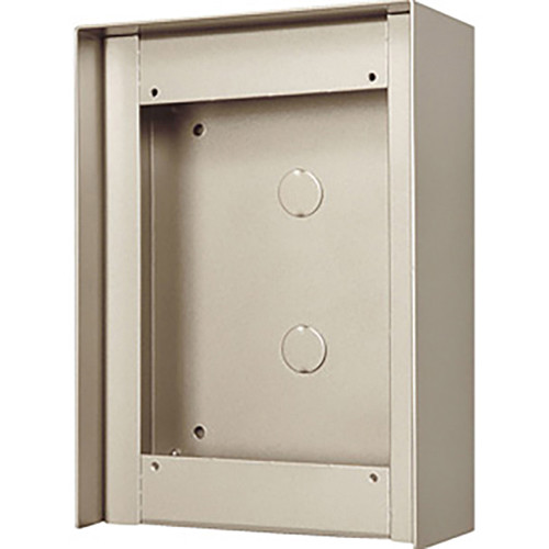 Aiphone GT-102HB 3-Module Hooded Surface-Mount Box for GT Entrance Panels (1 Horizontal x 2 Vertical)