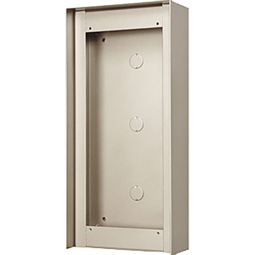 Aiphone GT-103HB 3-Module Hooded Surface-Mount Box for GT Entrance Panels (1 Horizontal x 3 Vertical)