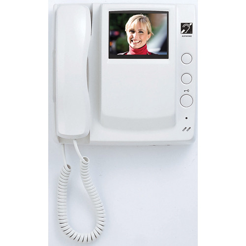 Aiphone GT-1M-L Handset Master Monitor Station for GT Series Multi-Tenant Color Video Entry Security System