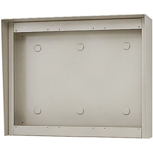 Aiphone GT-303HB 3-Module Hooded Surface-Mount Box for GT Entrance Panels (3 Horizontal x 3 Vertical)