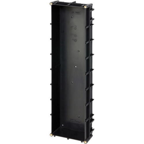 Aiphone 4-Module Semi-Flush Vertical Back Box for GT Series Entrance Stations