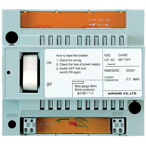 Aiphone GT-BC Audio Bus Control Unit for GT Series Multi-Tenant Entry Security System