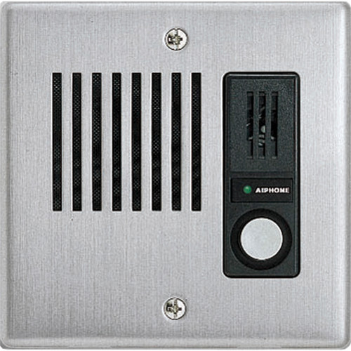 Aiphone IE-JA Flush-Mount Door Station for IE Series Chime Tone Intercom System (Stainless Steel)