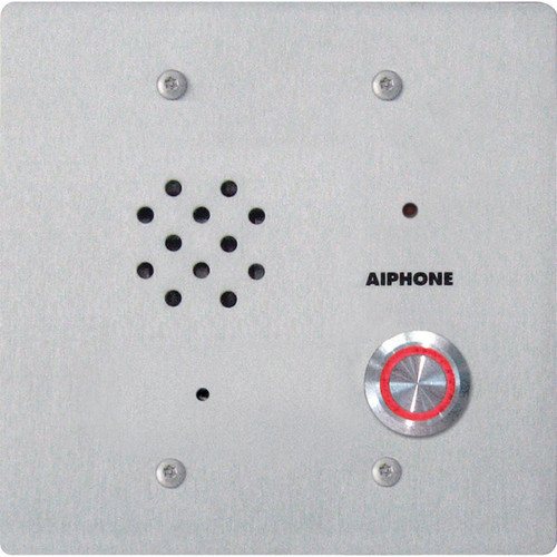 Aiphone IE-SSV Vandal-Resistant Sub Station with Built-In Color Pinhole Camera for AX/IE/TC-M/TD-H Intercom System