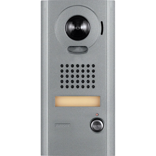 Aiphone IS-IPDV Surface Mount IP Video Door Station for IS Series Video Intercom System (Aluminum)