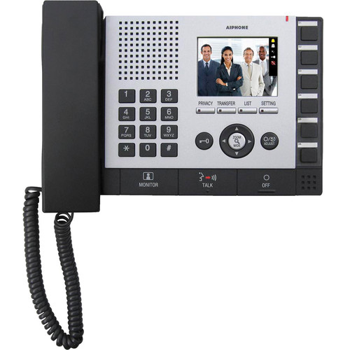 Aiphone IS-IPMV IP Video Master Station for IS Series Networked Video Security Communication System