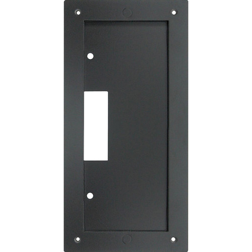 Aiphone IS-MB Mullion Mounting Bracket for IS-DV Video Door Station (Black)