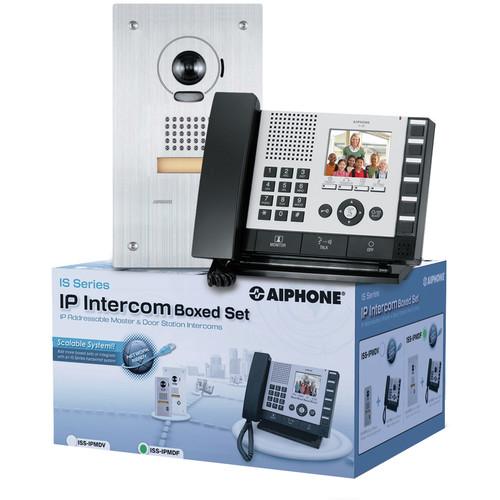 Aiphone IS Series ISS-IPMDV IP Direct Intercom Set