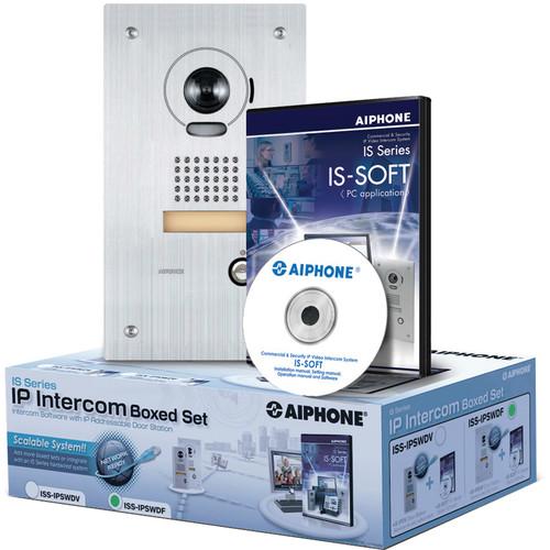 Aiphone IS Series ISS-IPSWDF IP Direct Intercom Set