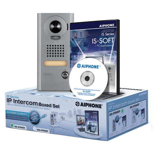 Aiphone IS Series ISS-IPSWDV IP Direct Intercom Set