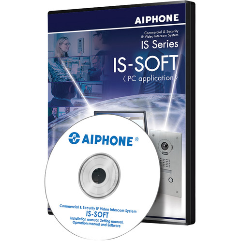 Aiphone IS-SOFT PC Master Station Application Software