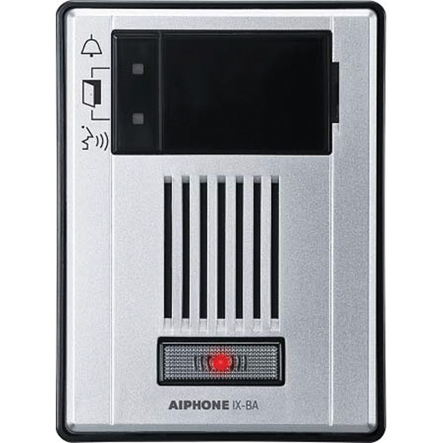 Aiphone IX-BA Surface Mount Audio Only Door Station for IX Series IP Video Intercom System