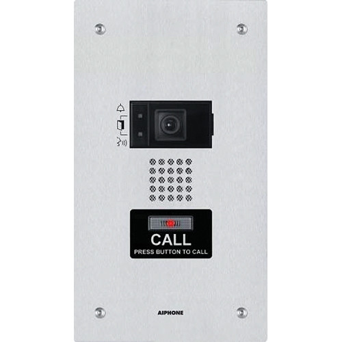 Aiphone IX-DF Flush Mount Video Door Station for IX Series IP Video Intercom System