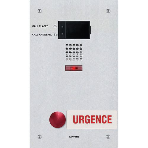 Aiphone IX-SS-RA-FR IP Addressable Audio Emergency Station with French Signage