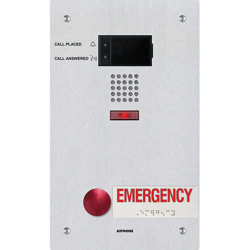 Aiphone IX-SS-RA IP Addressable Audio Emergency Station for the IX Series Video Intercom Systems