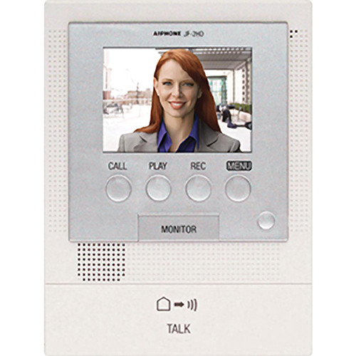 Aiphone JF-2MED Master Monitor Station for JF Series Video Entry Security System