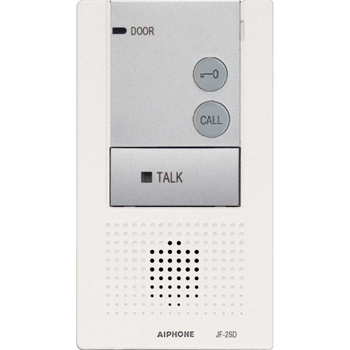Aiphone JF-2SD Audio Only Sub Station for JF Series Hands-Free Color Video Entry Security System