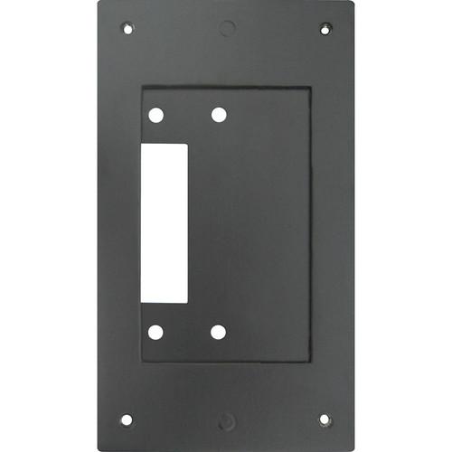 Aiphone JK-MB Mullion Mount Bracket for JF-DV/JK-DV/JO-DV Door Stations (Black)
