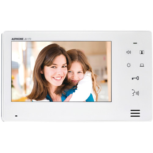 Aiphone JO-1FD Hands-Free Color Video Intercom Expansion Monitor Station for JO Series Video Intercom System (White)