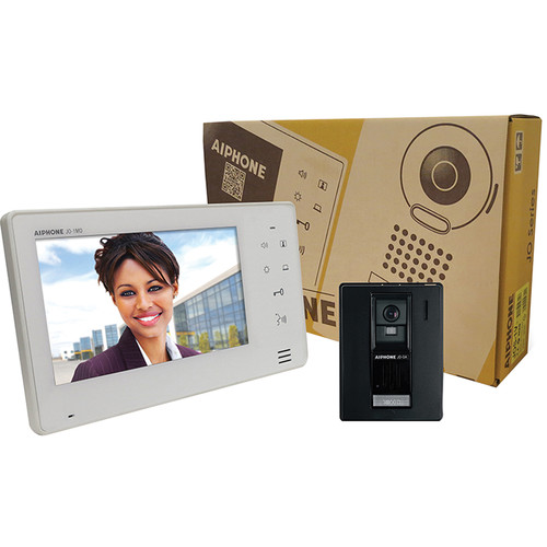 "Aiphone JOS-1A 7"" Monitor & Hands-Free Color Video Intercom Set"
