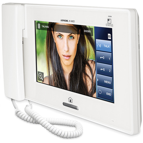 Aiphone JP-4MED Hands-free Color Video Intercom Master Station (White)