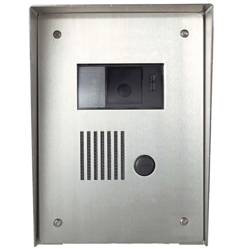 Aiphone KA-FSH Stainless Steel Flush Mount Housing for KB-DAR/KC-DAR/KA-DAR Video Door Station