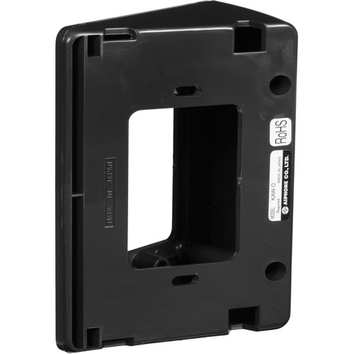 Aiphone KAW-D 30° Angle Mounting Box for Video Door Station (Charcoal Gray)