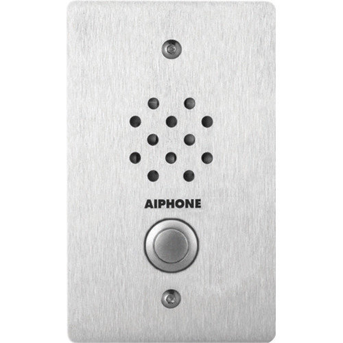 Aiphone LE-SS-1G Vandal and Weather-Resistant 1-Gang Sub Station