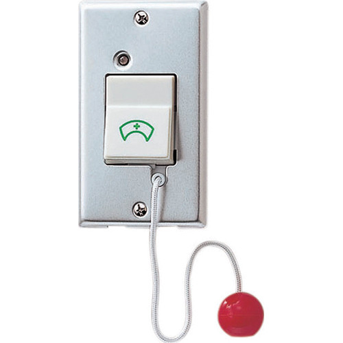 Aiphone NBR-7AS Moisture-Resistant Call Switch with Pull Cord