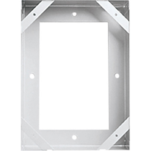 Aiphone NBX-2 Surface Mount Box for the NA-NE Sub-Station (Gray)