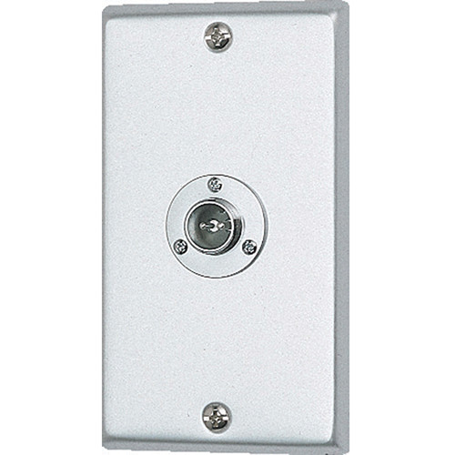 Aiphone NBY-1A 1-Gang Flush Metal Jack Wall Receptacle for NBR-8A Handheld Call Button