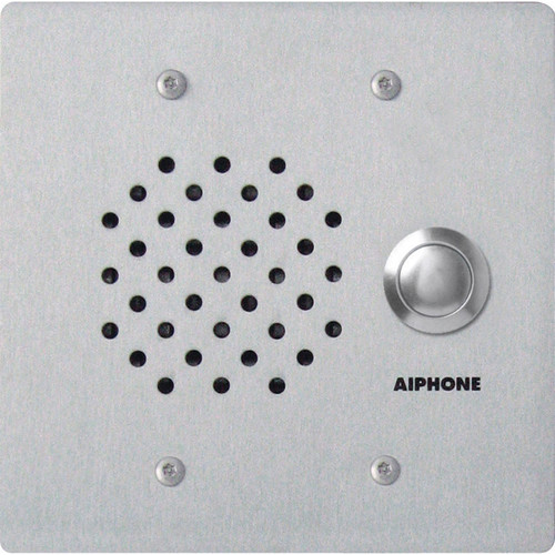 Aiphone NE-SS/A Vandal- & Weather-Resistant Audio Door Substation for NEM, NDR, & NDRM Systems