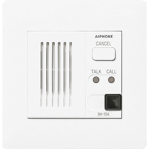 Aiphone NH-1SA-AC Single Patient Station with All Call Support for NHX Nurse Center System (White)