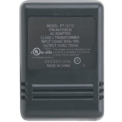 Aiphone PT-1211C 110VAC Input Plug-In Transformer for DA-1MD Master Station