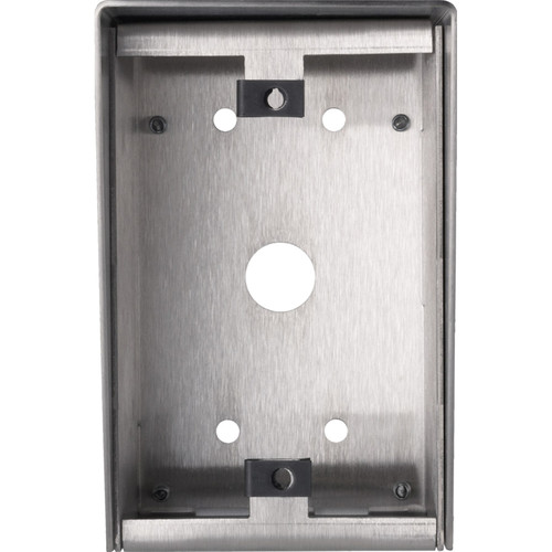 Aiphone SBX-1G Stainless-Steel Surface Mount Box for LE-SS-1G and NE-SS-1G Vandal- & Weather-Resistant 1-Gang Sub Stations