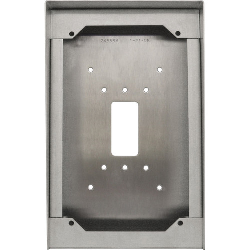 Aiphone SBX-AXDVF Stainless Steel Surface Mount Box for AX-DVF Video Door Station