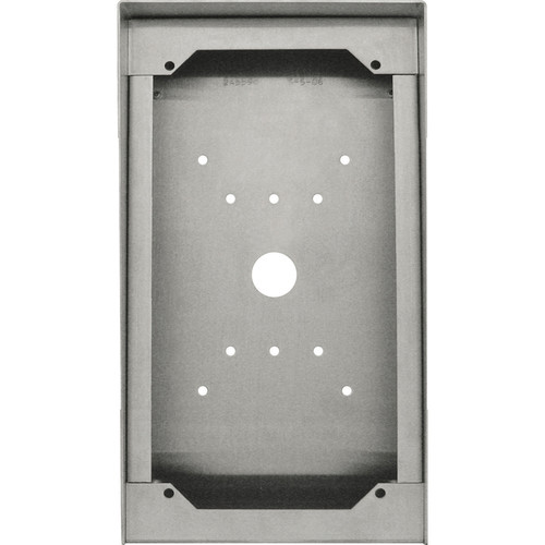 Aiphone SBX-ISDVF Stainless Steel Surface Mount Box for Door Stations