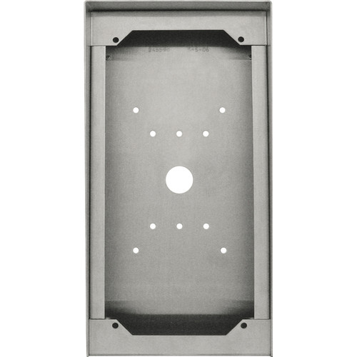 Aiphone SBX-ISDVFP Stainless Steel Surface Mount Box for Reader Door Stations