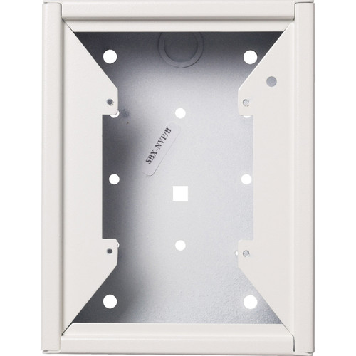 Aiphone SBX-NVP Surface Mount Box for LS-NVP & NE-NVP Vandal-Resistant Sub-Stations (White)