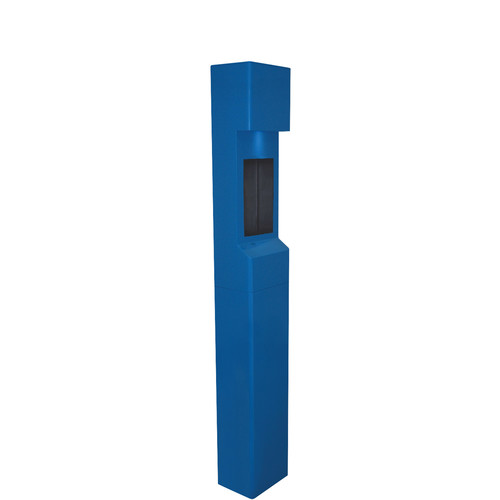 Aiphone TW-20 2-Module Mid-Level Weather- and Vandal-Resistant Modular Tower for IS Series Rescue Assistance Stations (Blue)