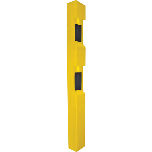 Aiphone TW-22 3-Module Dual Station Weather- and Vandal-Resistant Modular Tower for IS Series Rescue Assistance Stations (Yellow)
