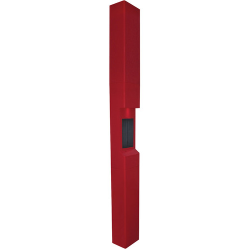 Aiphone TW-23 3-Module High-Level Weather- and Vandal-Resistant Modular Tower for IS Series Rescue Assistance Stations (Red)
