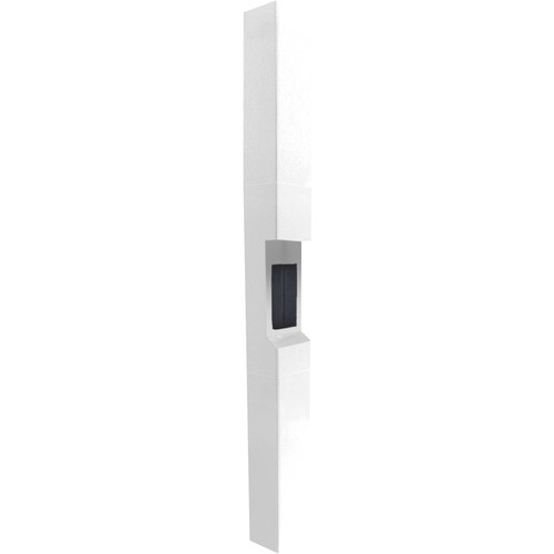 Aiphone TW-23 3-Module High-Level Weather- and Vandal-Resistant Modular Tower for IS Series Rescue Assistance Stations (White)