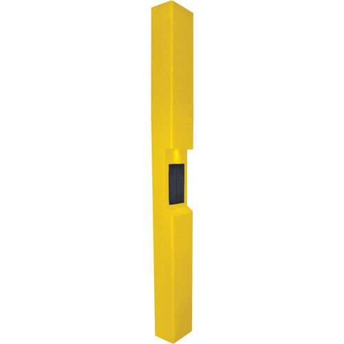 Aiphone TW-23 3-Module High-Level Weather- and Vandal-Resistant Modular Tower for IS Series Rescue Assistance Stations (Yellow)