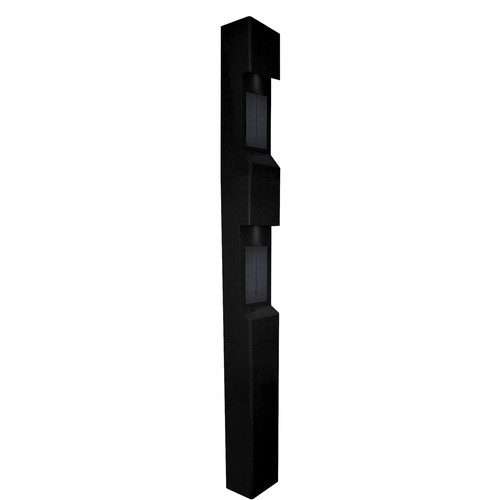 Aiphone TW-TP Steel Top Plate for TW-20, TW-22, or TW-23 Modular Towers (Black)