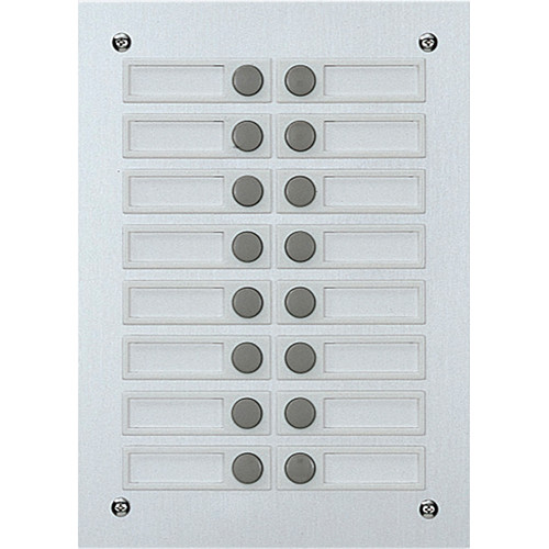 Aiphone The VCH-16 16 Button Add-on Panel