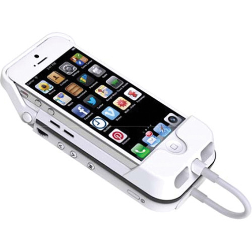 Aiptek MobileCinema i55 Dadny Pico Projector and Power Bank (White)