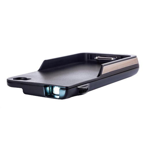 Aiptek i50s dlp pico projector for iphone 4 4s black for Best iphone projector