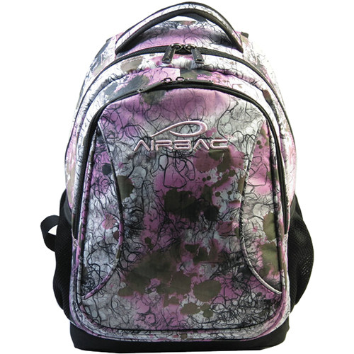 AirBac Technologies Curve Backpack (White Pink)